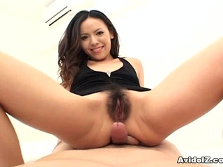 Sexy Japanese Babe sucks a shlong and Swallows cum