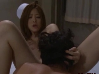 Asian nurse has porn inside the hospital