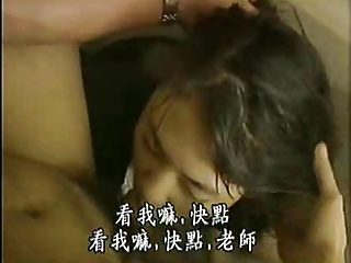 Cute Asian Sucks and Fucks