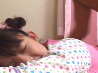 Youthful japanese teen drilled hard uncensored video