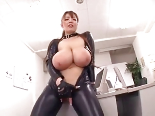 Asian Boobs In Latex