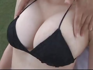 Sweet Busty Asian Babe Massage - Who is she?
